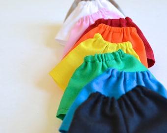 Blythe Gumball Rainbow Shorts for Neo Blythe Kenner or similar size custom doll