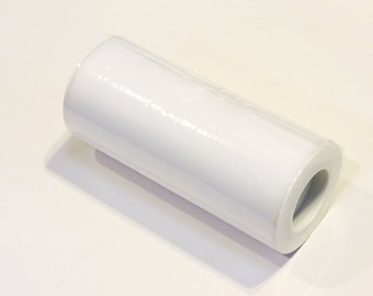 """White Nylon Tulle Spool, Fine White Netting Roll by the Yard, Wedding Decor, Tutu Fabric, 6"""" x 25 yards itsyourcountry"""