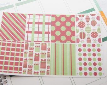 Christmas Stickers Full Box Planner Stickers PS197 Fits Erin Condren