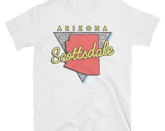Scottsdale Arizona T Shirt Vintage AZ Triangle