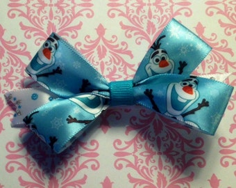 Frozen Inspired Hair Bows