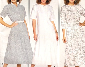 Butterick 4702 Women's Dress Pattern, Family Circle Collection, Size 10, Vintage Uncut Pattern