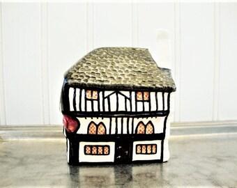 vintage suffolk cottage miniature english village shop putnam heritage house cherub inn dartmouth england