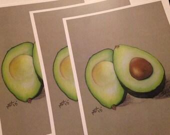 Avocado - Print