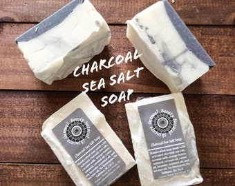 Charcoal Sea Salt Soap