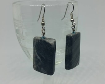 Picasso Marble Earrings