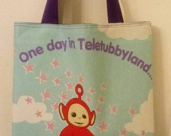 "The Teletubbies ""Po"" Inspired Tote"