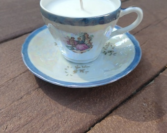 Mojito - Soy Wax Tea Cup Candle