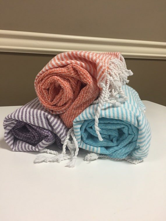Oversized Turkish Beach Towels in 3 Colors!