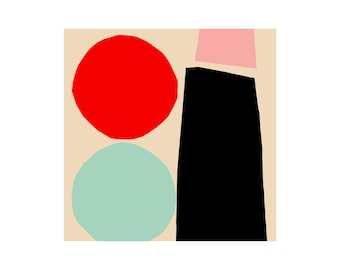 Going Dutch. Open Edition Print. Abstract Print.