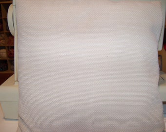 Beige Textured Pillow Cover