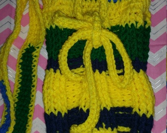 Crochet tote sling bag