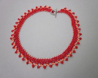 Adelaide netted collar