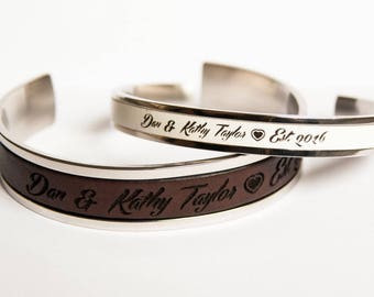 Wedding Gift for Couple His and Her Bracelet We still Do Couples bracelet Personalized Gift for Couple Anniversary Gift Matching bracelets