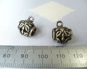 Package includes 2 charms attached
