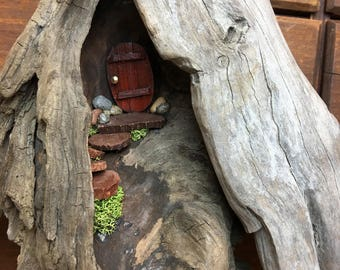 Fairy House,  Wall hanging,  Miniature house,