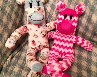 SALE!  Make your own sock monkey kit Easter crafts