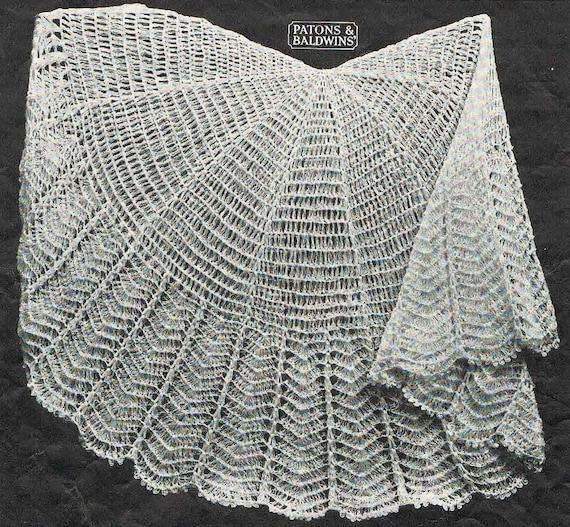 40s style- circular crochet baby shawl pattern- Australian Crochet ...