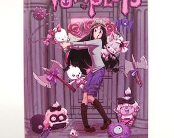 Vamplets:  Nightmare Nursery Graphic Novel *SIGNED BY ARTIST!*