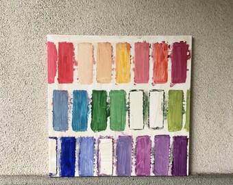 20x20 Rainbow Palette Swatches