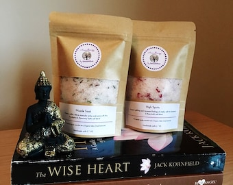 100% Natural Bath Salts with Essential Oils