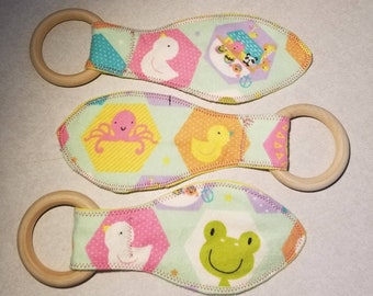 Noah's Ark Teething Ring