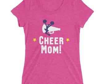 Cheer Mom Ladies' short sleeve t-shirt