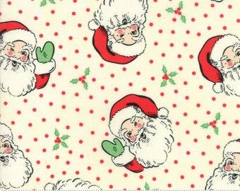 Swell Christmas by Urban Chiks - Christmas Santa - Natural - Moda 31120 11