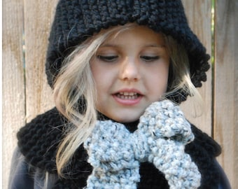 Knitting PATTERN-The Hayleigh Hood (12/18 months, Toddler,Child, Adult sizes)