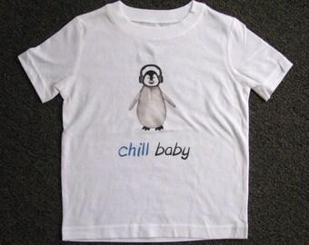 Penguin Shirt, Bird shirt, Toddler Clothes, Cute Kids Clothes, Kids Clothes, Funny kids clothes, Girl Shirt, Boy Shirt, Hipster Animal