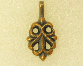 Amulet Pendant Blossoming Cross