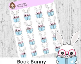 Bunny planner stickers - 5 Kinds