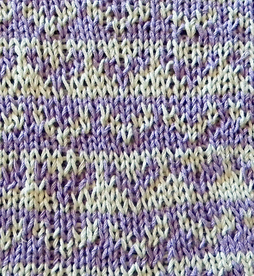 Perfect Knit Potholder Pattern Component - Sewing Pattern for ...