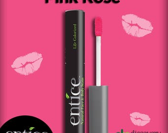 Entice Pink Rose Lip Stain