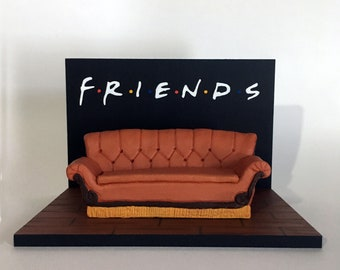Miniature Central Perk Couch from Friends