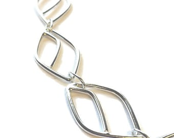 Contemporary Stylised Leaf Necklace