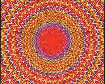 Just an illusion Blotter Art