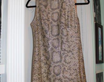 Shiny Vintage Dress