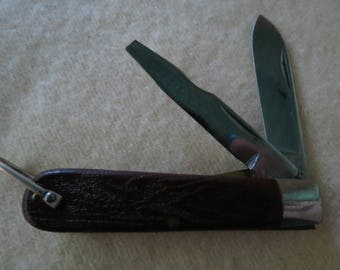 Klein Tools Electricians Knife - Chicago - U.S.A. - Vintage Collectible Pocket Knife