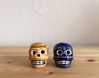Mexican Folk Art Oaxacan Miniature Skulls