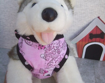 Skulls and Bows Dog Harness