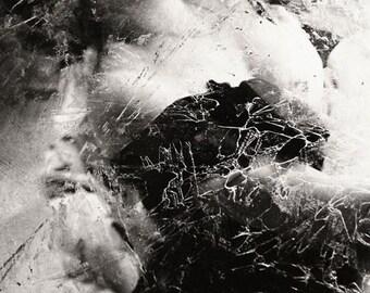 Ethereal Female Portrait  Photograph Dreamy Sensual Portrait 8x12 Modern Wall Decor Madam X