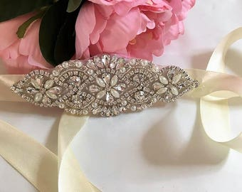 Swarovski Crystal Bridal Cuff Bracelet Variations Available UK Seller Handmade