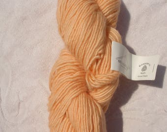 Steadfast Fibers Wonderful Wool Worsted Weight Yarn Apricot Ice 1 Skein