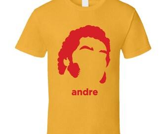 Andre The Giant Wrestling Retro T Shirt