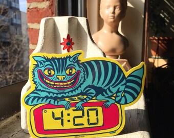 4:20 Cat Sticker