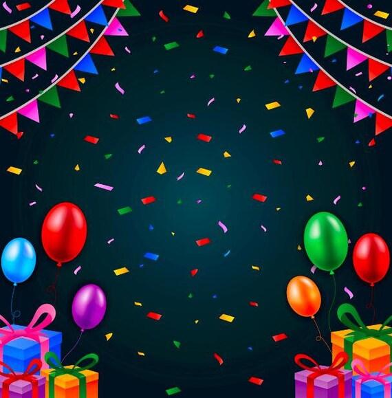 Customized Birthday Party Photoshoot Background Celebration
