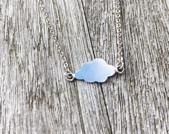 Necklace Nuage with sterling silver