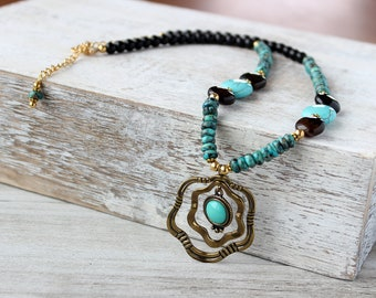 Wife Turquoise Necklace