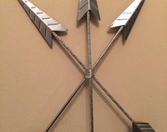 Arrow Wall Decor/  Metal Wall Decor/ Western Wall Decor/ Arrows/ Home and Garden Decor